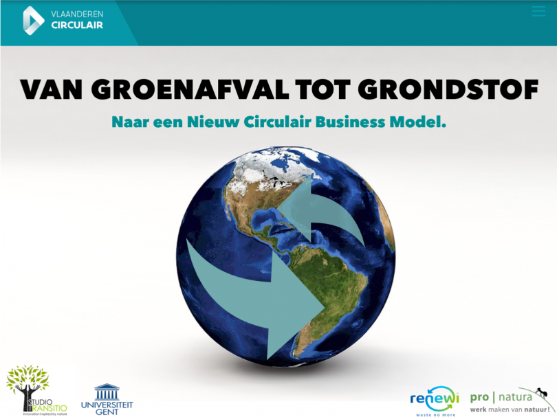Studio Transitio is a partner in the Flanders Circular project 'From Green Waste to Resource'